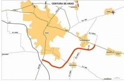 Consiliul Județean Arad a primit punctaj aproape maxim pentru proiectul centurii Aradului!
