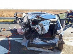 Un bărbat a murit într-un groaznic accident rutier lângă Vama Nădlac