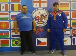 David Nagy a adus acasă medalia de bronz câștigată la Campionatul Mondial de sambo