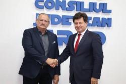 Primarul orașului Spišská Nova Ves s-a întâlnit cu Iustin Cionca, președintele CJA