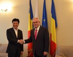 Coducerea Camerei de Comerţ din Arad a primit vizita uneia dintre cele mai importante provincii din China