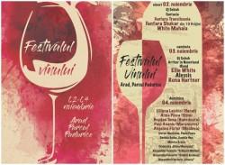 Festivalul Vinului, va avea loc în perioada 2-4 noiembrie în Parcul Pădurice - Vezi aici care este programul