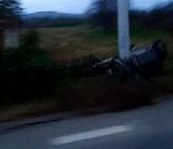 A scăpat ca prin minune, în urma unui accident produs la Căpruța