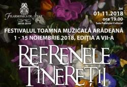 Festivalul Toamna Muzicală Arădeană la Filarmonica din Arad