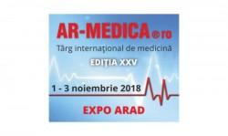 Noiembrie ne aduce AR-MEDICA, cel mai important eveniment medical din vestul României!