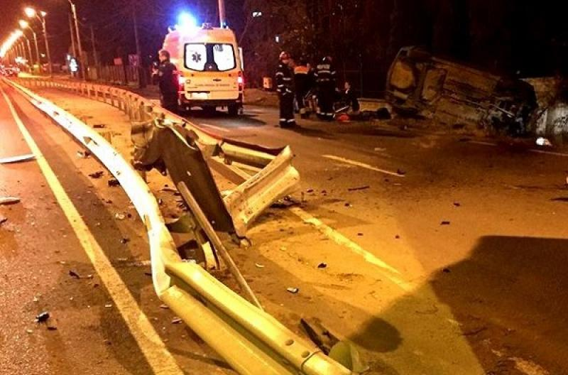 Grav accident rutier, duminică seara între Hunedoara și Deva