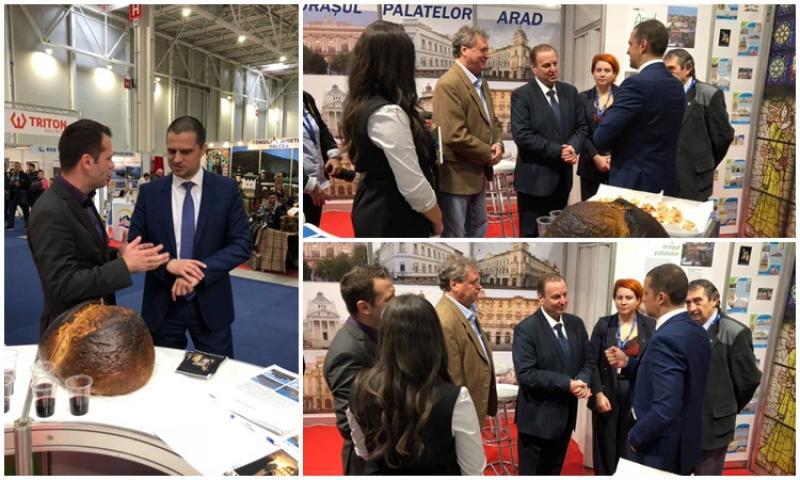 """Aradul se promovează ca """"Orașul Palatelor"""", la Târgul Național de Turism de la București!"""