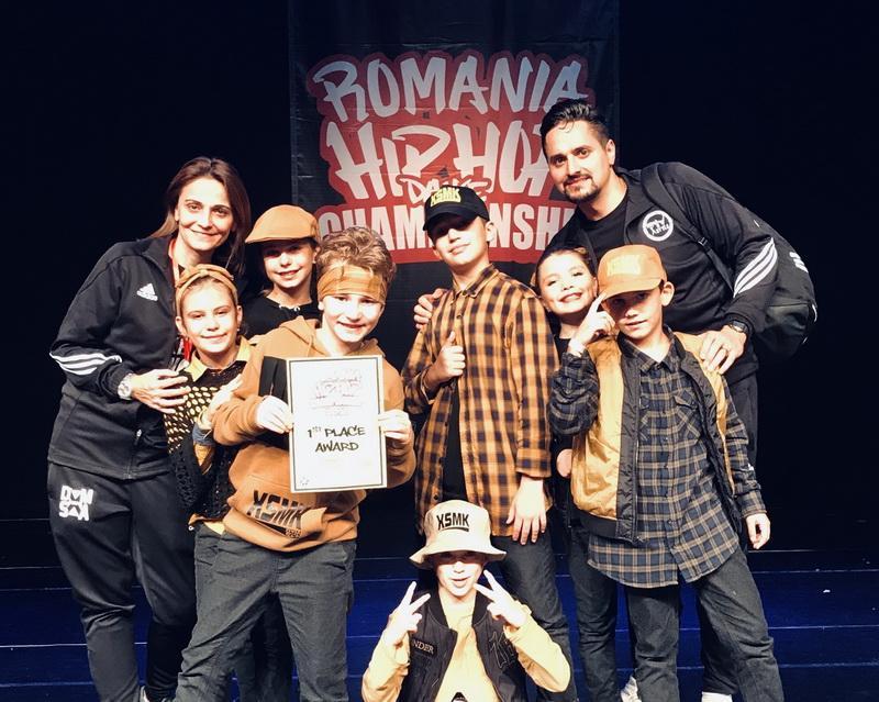 X-Style Mini Kids, campionii României la Hip Hop Internaţional