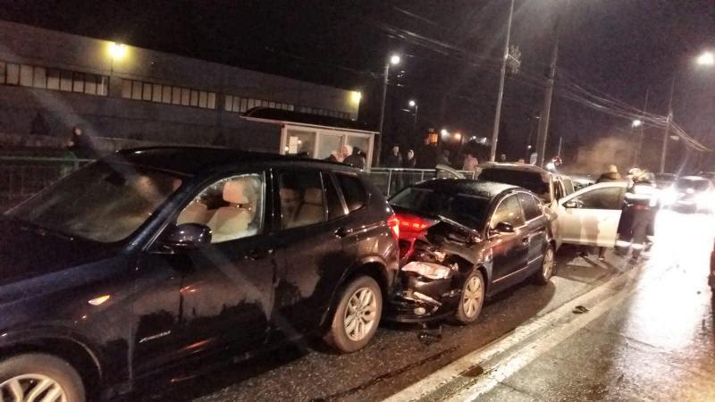 GRAV accident rutier în Grădiște. O persoană grav rănită este inconștientă