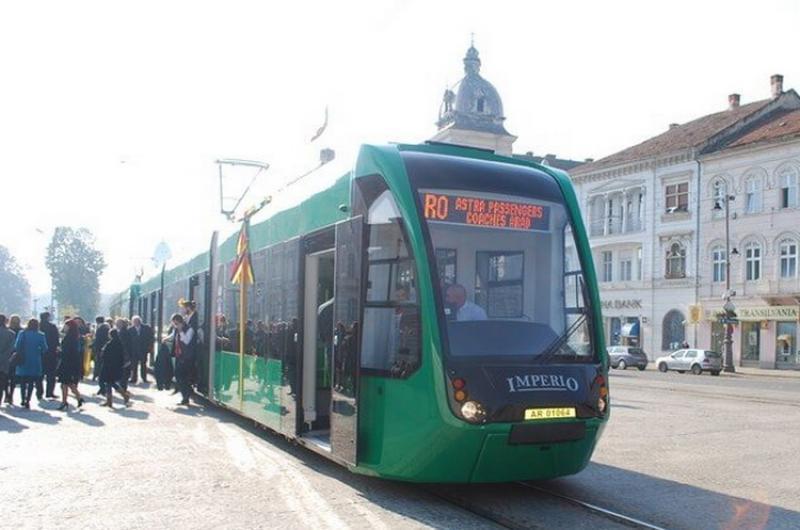 De vineri se oprește circulaţia tramvaielor pe tronsonul Piața Caius Iacob – Podgoria