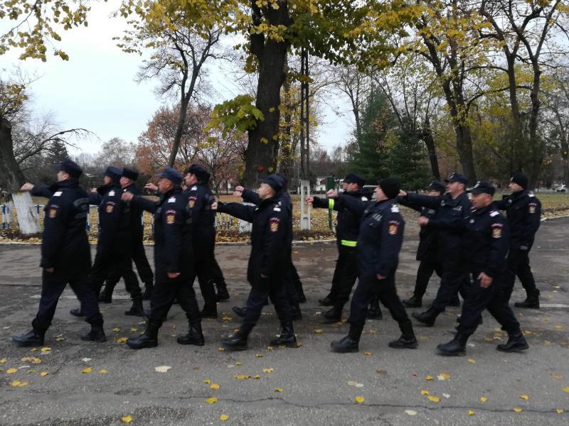 Astăzi au avut loc primele repetiții pentru ceremonia militară ce va avea loc pe 1 decembrie