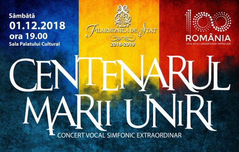 Ziua Naţională marcată în calendarul muzical al Filarmonicii din Arad  printr-un program de capodopere românești