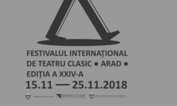 S-au pus în vânzare biletele pentru Festivalul Internațional de Teatru Clasic, Arad 2018 - FITCA24