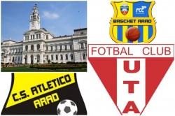 UTA, Atletico, Baschet FCC, au benefiaciat de finanţări de la Primăria Arad de peste 2 milioane de euro în 2018, tot nu e bine.....