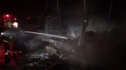 Un Tir a luat foc pe Autostada Arad-Timișoara