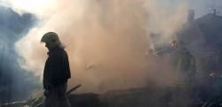 Incendiu la o anexă gospodărească din Lipova