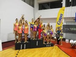 Performanţe notabile ale gimnastelor de la RITMICĂ la Cupa României şi Campionatele Naţionale de Ansambluri