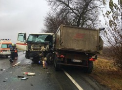 Un ACCIDENT rutier a blocat circulația pe ambele sensuri la Păuliș