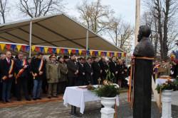 Bustul lui Ionel IC Brătianu a fost dezvelit la Tîrnova