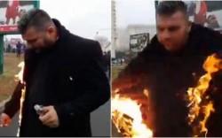 ȘOCANT ! Un preot și-a dat foc. AFLĂ ce anume l-a împins la acest gest