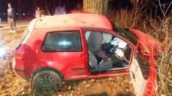 GRAV accident rutier la intrare în Sintea Mare