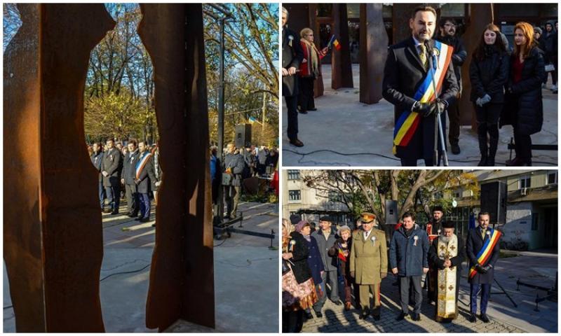 Dacă n-avem monument al Marii Uniri,  avem măcar un grup statuar Arad -1918