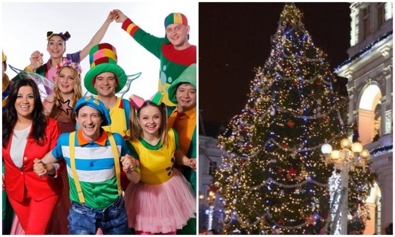 Miercuri, 5 decembrie, se aprind luminițele în bradul de Crăciun. Spectacol magic cu Gașca Zurli