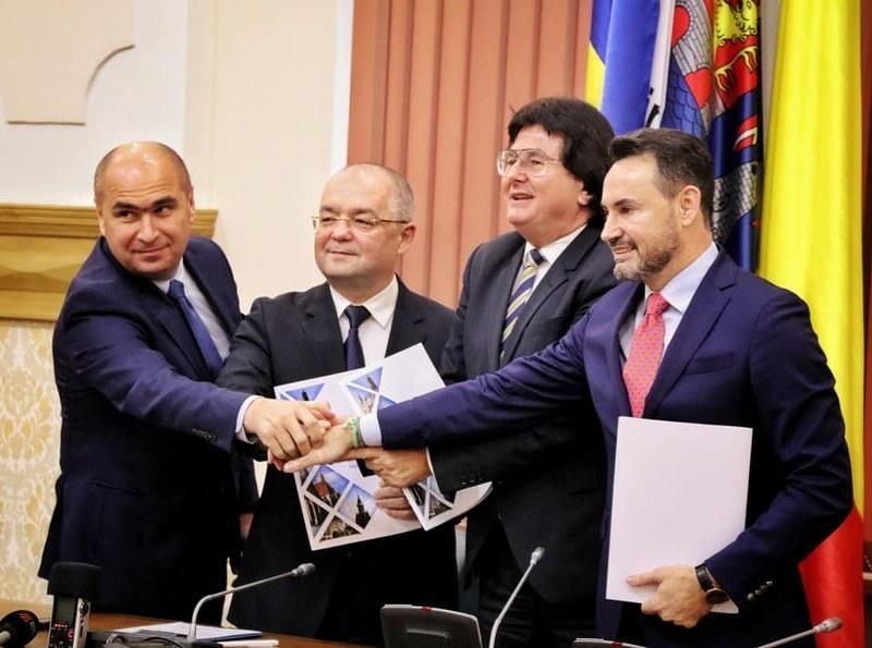 Primarii din Arad, Oradea, Cluj şi Timişoara au semnat Alianţa Vestului! O initiative în spiritual Declaraţiei de la Alba Iulia