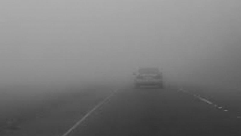 Alertă ANM: Cod galben de vreme severă imediată în județele Arad, Caraș-Severin, Hunedoara și Timiș - ceață care reduce local vizibilitatea sub 200 m