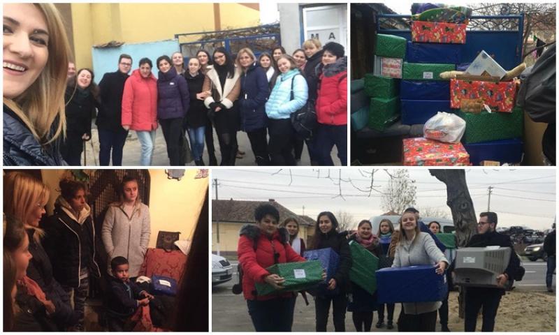 """""""Ajută-ne, să-i ajutăm!"""", campania studenților de la specializarea Asistență Socilă continuă"""
