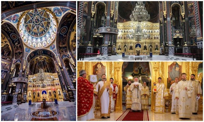 Pictura noii Catedrale din Arad sfinţită de un Sobor de Ierarhi