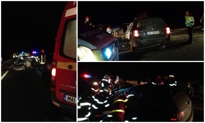 Accident cu VICTIME lângă Hanul de la Răscruce!