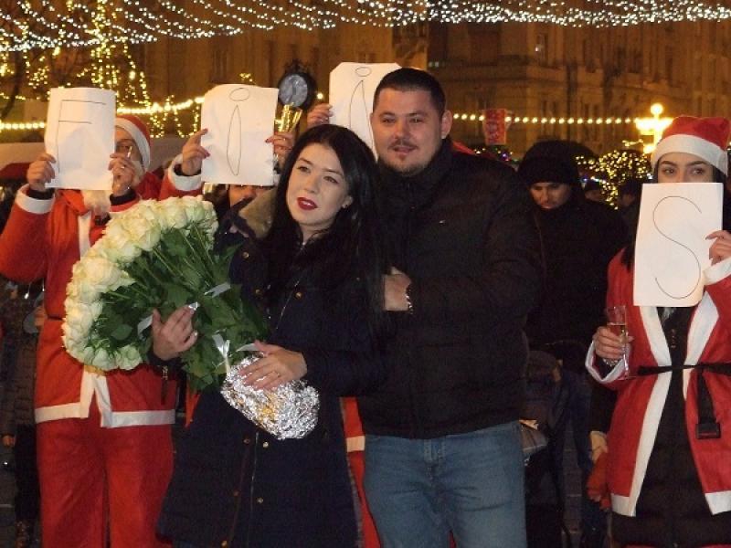 Cum a fost cerută în căsătorie o tânără din Timișoara