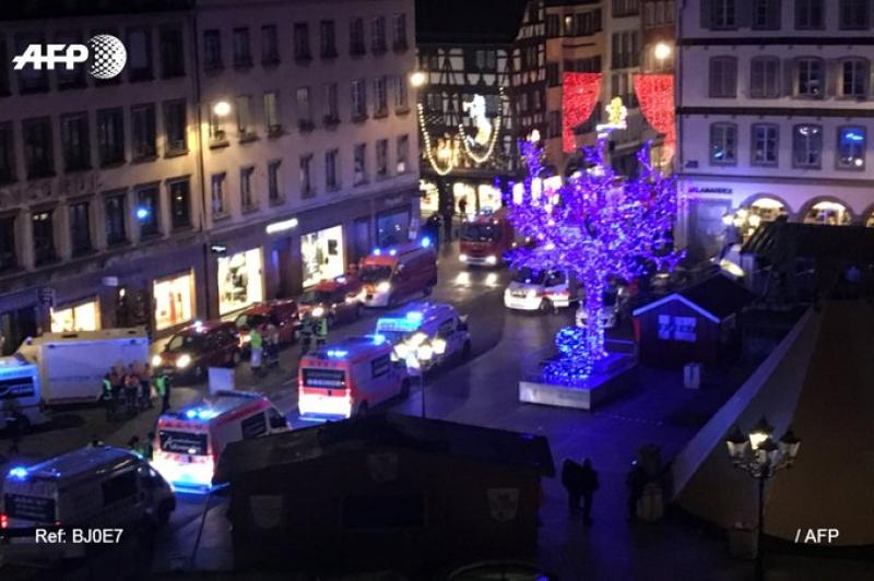 ATAC terorist la Târgul de Crăciun de la Strasbourg