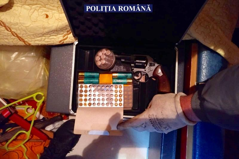 Bărbat de 33 de ani din Galșa, reținut pentru contrabandă calificată și nerespectarea regimului armelor și munițiilor