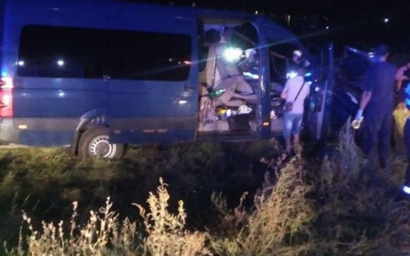 Accident feroviar la bariera din Zimandu Nou