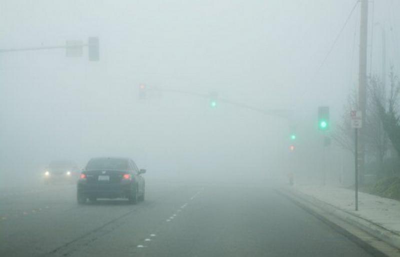 Cod galben de ceață în vestul țării. Vezi zonele afectate