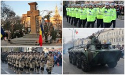 Ziua Națională și  Centenarului Marii Uniri, sărbătorite la Arad