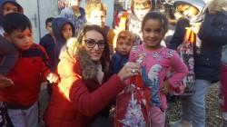 Copilașii de la Grădinița P.P. Bambi din Arad au dăruit cadouri de Moș Nicolae, copiilor sărmani