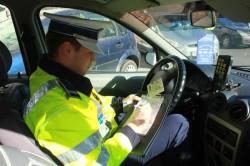 Polițiștii rutieri arădeni au dat 174 de amenzi în doar 24 de ore