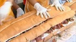 Cel mai mare sandwich realizat la Timișoara