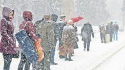 Alertă METEO! Coduri Galbene şi Portocalii în vestul ţării de ninsori şi vreme rea!