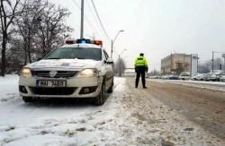 Recomandări pentru șoferi făcute de polițiștii rutieri arădeni