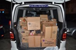 Doi clujeni prinși transportând ilegal peste o tonă de material pirotehnic