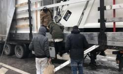 Şase cetăţeni din Siria şi Iran, ascunși într-un automarfar de un şofer turc, depistaţi la Vama Nădlac II