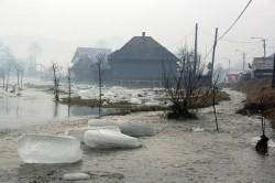 COD GALBEN de inundații în județul Arad, Timiș și Bihor