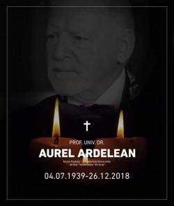 Slujba de înmormântare a profesorului univ.dr. Aurel Ardelean  va avea loc sâmbtătă