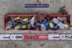 Polițiștii arădeni au confiscat peste 2000 de artificii comercializate ilegal