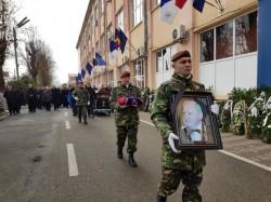 Aurel Ardelean condus pe ultimul drum cu onoruri militare