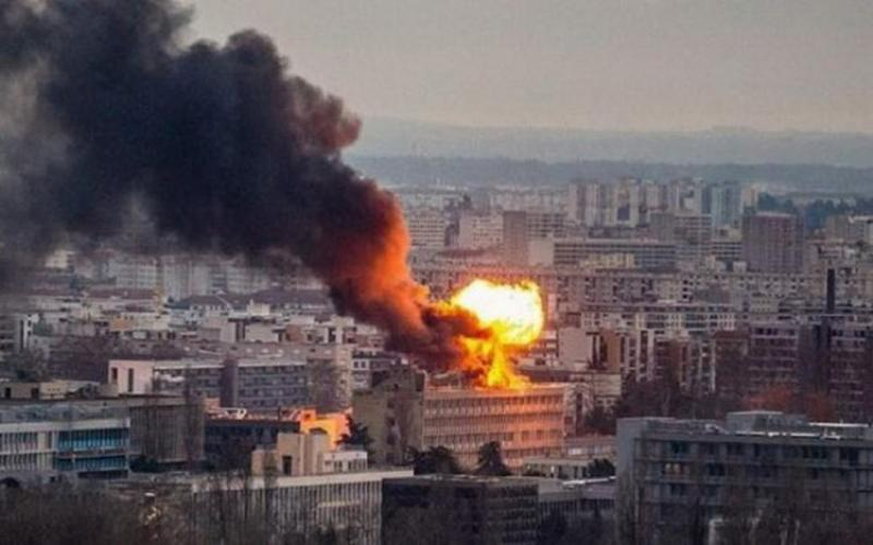 Explozie puternică la Universitatea din Lyon